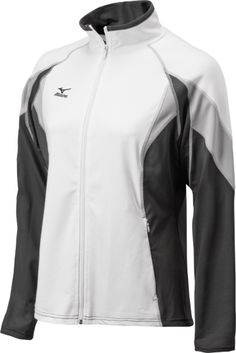 Mizuno Nine Collection: Full Zip Jacket   Mizuno USA  Warm-up in style for HS season 2014!