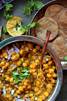 Chana masala a delicious indian chickpea curry indian cuisine simplest punjabi chanachickpea masala ever forumfinder Gallery