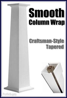 craftsman-style-column-wrap- this is a pre-made one, but Im sure kelly could make one for a lot cheaper