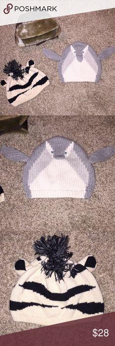 Bundle of Winter Hats Size 18-24 months Super Cute Bundle of Winter Hats Size 18-24 months Super Cute! GAP Accessories Hats
