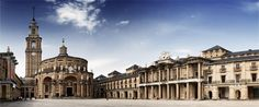 Edificio de La Laboral. Gijón, Asturias. Spain.