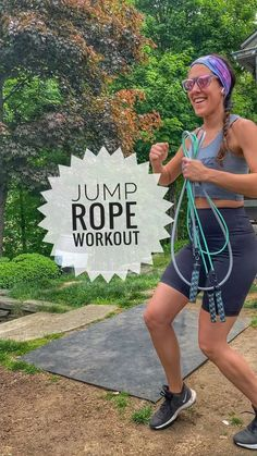 kathyjumps on Instagram: Here's a fun jump rope workout to try! 🔥Be sure to save for later! ✅ ⠀ The goal here is to BRING THE INTENSITY (everything you've got)… Jump Rope Workout, Goal, Bring It On, Fun, Instagram, Hilarious