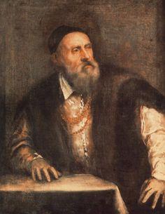Titian Self Portrait. Тициан (Тициано Вечеллио)