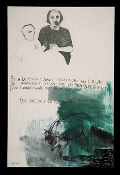 DOMINIQUE GOBLET Illustration Story, Illustrations, Sketchbook Inspiration, Art Sketchbook, Jorge Gonzalez, Virtual Art, Unusual Art, Art Archive, Gravure