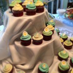 Red Velvet Cupcakes w Vanilla Buttercream