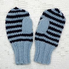MAJAS HOBBYKROK: Enkle barnevotter (oppskrift) Knitting Projects, Knitting Patterns, Baby Booties, Knit Crochet, Diy And Crafts, Gloves, Wool, Inspiration, Tricot