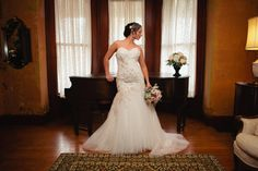 Gown: A Day to Remember Bridal Boutique; location: Black Swan Inn; Jenniker Bakos Photo; flowers: Simple Bouquets; hair/makeup: Custom for You/Donna Cotnoir