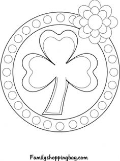 Color Page St. Patricks Day printable Coloring Pages