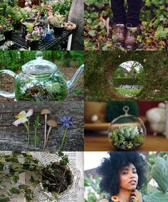 witches who garden (part two) | the other gardener witches live in the city. not these girls. they left, found places far away where they could let their gardens sprawl and extend. they coax green from the ground with barely any effort; they sink roots into the ground themselves. this, too, is magic.