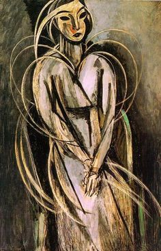 Henri Matisse, Madame Yvonne Landsberg, c. 1914