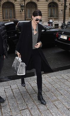 Kendall Jenner Just Reached Peak Cool-Girl Status at PFW