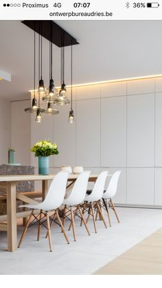 LED Pendant Light makes dining brighter