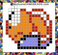 Patrones Hama Beads Super Mario World parte 1