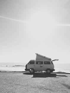 van life in cambria, ca, #VW #VolkswagenBus