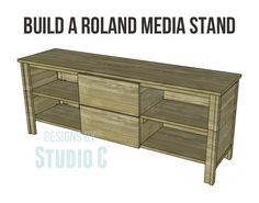 Media Stand Woodworking Plans Tv Stand Plans Tv Stand Woodworking Plans Easy Diy Wood, Woodwork Woodworking Plans Wood Stand Pdf Dma Homes Rustic Media Center Free Diy Plans Rogue Engineer, Cool Woodworking Projects, Diy Woodworking, Wood Projects, Tv Stand Plans, Cabinet Plans, Diy Sofa, Diy Furniture Plans, Stand Design, How To Plan