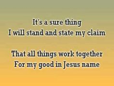 Because God Is Good - John Waller - July 27, 2011
