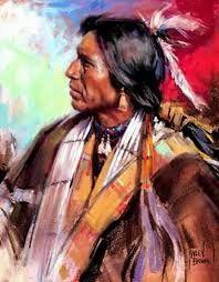 Resultado de imagen de pintura o fotografia indios americanos