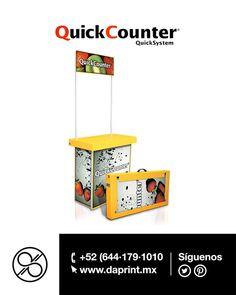 Activa tu punto de venta con un módulo de #QuickCoutner #Daprint único distribuidor autorizando en el sur de Sonora