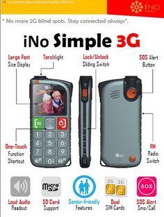 a368c85fe83ce4 iNO New Simple 3G SOS Senior Phone