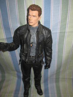 """Arnold Schwarzenegger 12"""" ActionFigure,Terminator 3,EXCDToys,Collectibles"""