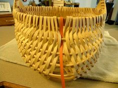 A Hand-Woven Life  egg basket part 3
