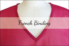French Binding Tutorial by In-House Patterns