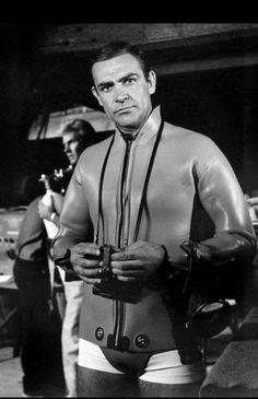 Sean Connery 1965 Scuba Scene