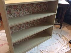 This was a sad old cupboard, had glass doors too but not sure they look right any longer