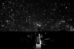 My planetarium wedding.  Photo by Chris Newkumet