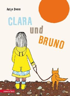 Schon lange ist der Hund Bruno Claras treuer Begleiter. Wo Clara ist, ist auch Bruno, wenn er irgendwann viel lieber am warmen Ofen liegen würde. Und auch nicht mehr so viel laufen möchte. Als er sein Fressen nicht mehr anrührt, weiß Clara Bescheid: Bruno wird sterben. Liebevoll und mit sehr plakativen Bildern erzählt Antje Damm eine Geschichte über das Abschiednehmen. Antje Damm, Clara und Bruno. Annette Betz. Ab 4.