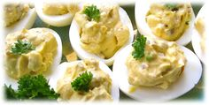 Recipe - Sausage Stuffed Deviled Eggs  #nomnomnom