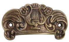 Lyre Drawer Pull - Look In The Attic & Company - Alpha Chi Omega