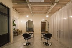 Ba sho hair salon by Iks design Okazaki Japan