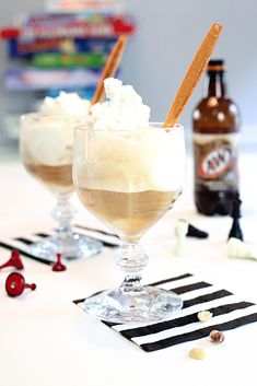 Host family game night and serve up the best recipes for root beer floats! Visit The Celebration Shoppe for more game night ideas.