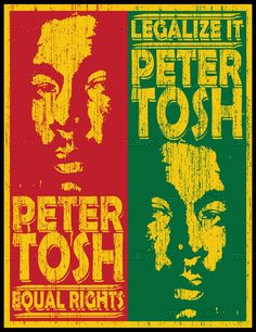Peter Tosh Art