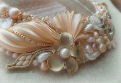 Ожерелья с лентами сибори Serena Di Mercione