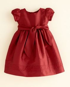Girls  Cap-Sleeve Taffeta Dress by Isabel Garreton  party Abito Per Bambino 356bf662101