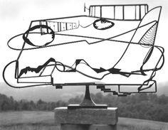 David Smith, Hudson River Landscape, 1951, sculpture