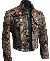 BAVARIA JACKET - NEW PAISLEY TAPESTRY #goth #gothic #punk #punkrock #rockabilly #psychobilly #pinup #inked #alternative #alternativefashion #fashion #altstyle #altfashion #clothing #clothes #vintage #noir #infectiousthreads #horrorpunk #horror #steampunk #zombies #burningmanclothing #shrine clothing