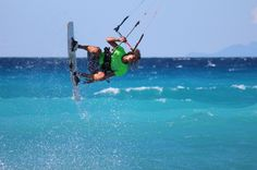 Kitesurfing in Gira, Lefkada island Exotic Beaches, Kitesurfing, Greece, Island, Greece Country, Islands