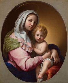 Madonna and Child by Onorio Marinari