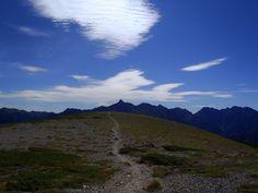 Sep.8.2011 双六岳から見た槍ヶ岳