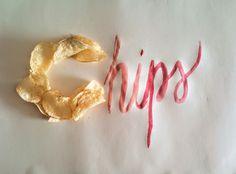 #chips#handmade#typography