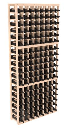 Wine Racks America® Cellar Rack 8 Column in Ponderosa Pine. 13 Gorgeous Stains to Choose From! Capacity: 144 Bottles Wooden wine storage available in pine or Table En Pin, Wine Racks America, Wine Cellar Racks, Beer Cellar, Wine Case, Italian Wine, Wine Storage, Caves, Handmade Wooden