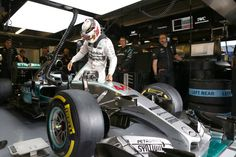 Lewis enters his office