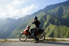 Tourist travelling in the mountains near Sapa. Rich Image, Travel And Tourism, Photo Library, Royalty Free Images, Vietnam, Travelling, Stock Photos, Mountains, Pictures