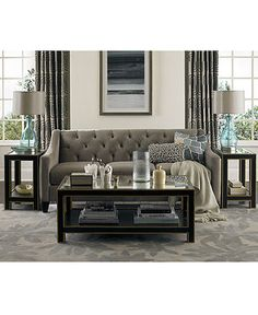 Chloe Fabric Velvet Metro Sofa Living Room Furniture Collection Apartment Macys Home Decor