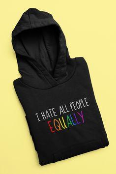 #hoodieseason #hoodie #hoodieoutfit #equality #mensfashion #mensfashionwinter #mensclothing #womensclothing Hoodie Outfit, Best Clothing Brands, Life Quotes, Funny Quotes, Cute Rats, Parent Gifts, Cool Items, Hoodies, Sweatshirts