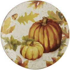 Pumpkin Patch Salad Plate | Pier 1 Imports
