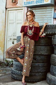 1970lerin Modası Geri Döndü: Bohem Elbiseler  #2019sokakmoda